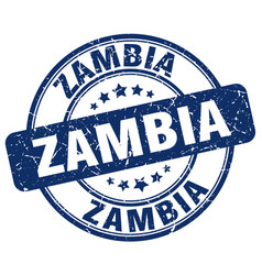 Zambia stamp vector