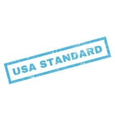 Usa standard rubber stamp vector