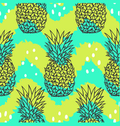 Bright stylish fruit pattern vector