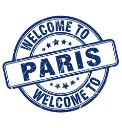 Welcome to paris vector