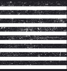 black textured lines seamless pattern stripes vector image