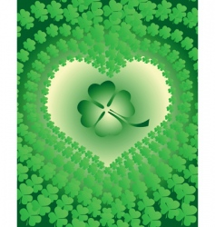 clover leaves vector image