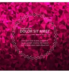 Glitter background vector image vector image