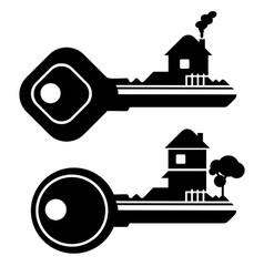 Key house vector
