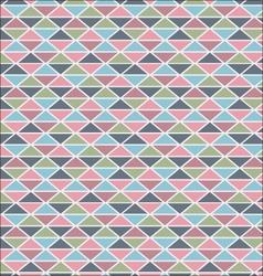 Delicate-triangle-pattern vector