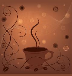 Coffee fon vector