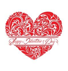 Heart ornament 1 380y vector