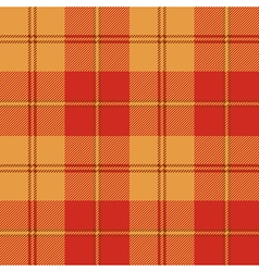 Red warm color tartan seamless texture vector