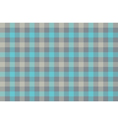 Gray blue check fabric texture background seamless vector