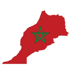 Morocco flag vector