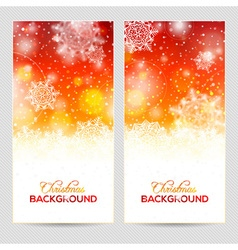 Abstract winter or christmas background vector