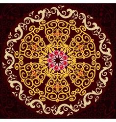 arabesque pattern vector image
