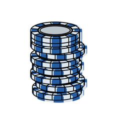 casino chip vector image