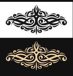 elegant design element vector image vector image
