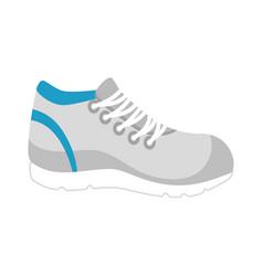 Sport shoe tennis icon vector