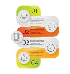 Tea infographics vector