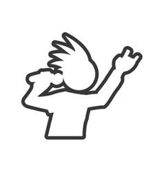 Musician icon rock music design graphic vector