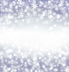Navidad purple background with snowflakes and copy vector