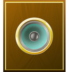 Stylish speaker vector