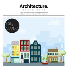 Architecture background cityscape 1 vector