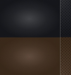 Automotive leather set vector