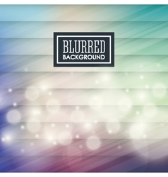 Background design Blurred icon Colorful vector image vector image