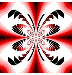 Design colorful decorative twirl background vector