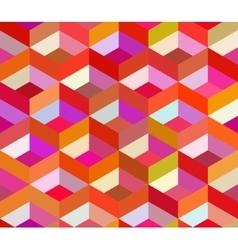 Seamless Colorful Vivid Geometric Blocks vector image vector image