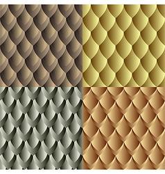 Seamles dragon skin pattern vector