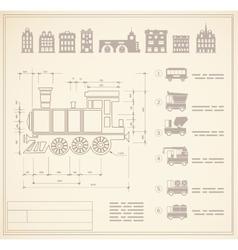 locomotive engineers vector image