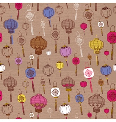 Classic Chinese new year background vector image vector image