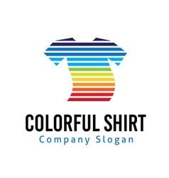 Colorful shop design vector