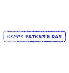 Happy father s day rubber stamp vector