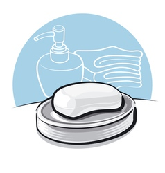 soap vector image vector image