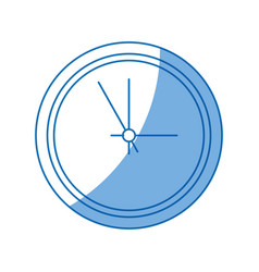 business clock office time element vector image