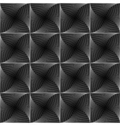 Design monochrome seamless checked background vector