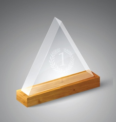 Realistic Award vector image vector image