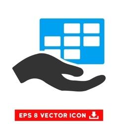Service schedule eps icon vector