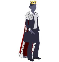 business woman queen vector image vector image