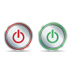 power icon vector image vector image