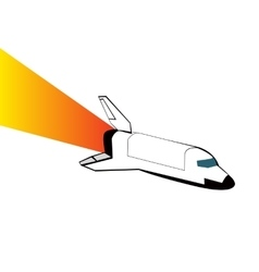 Space shuttle eps 10 vector image
