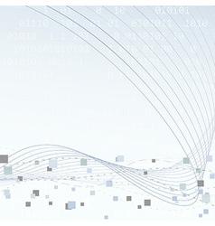 Technology geometrical hi-tech layout vector