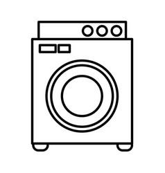 washer laundry machine vector image