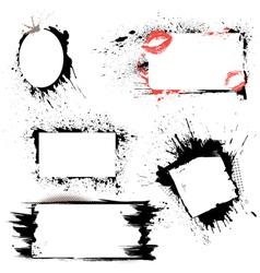 Frames grunge 380 vector