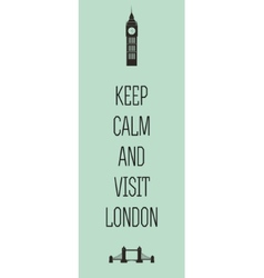London travel card vector image