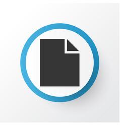 file icon symbol premium quality isolated folder vector image vector image