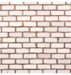 Brick wall background geometric polygonal style vector