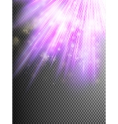 Bright violet light EPS 10 vector image vector image