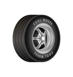 Car Wheel for sport vector image