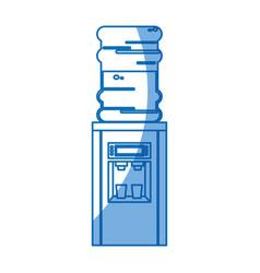 Cooler water dispenser machine design vector